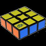 NEW 3x3x1 Super Floppy Cube - Black Body