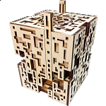 Silver City Kit - Wooden DIY Puzzle Box
