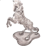 3D Crystal Puzzle Deluxe - Stallion