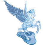 3D Crystal Puzzle Deluxe - Pegasus