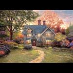Thomas Kinkade - Gingerbread Cottage