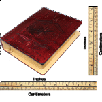 Romanian Secret Book Box - Burgundy Version 2