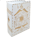 Romanian Secret Book Box - White