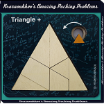 Triangle + - Krasnoukhov's Amazing Packing Problems