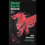 Metal Earth: Iconx 3D Metal Model Kit - Red Dragon