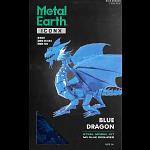 Metal Earth: Iconx 3D Metal Model Kit - Blue Dragon