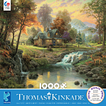 Thomas Kinkade - Mountain Retreat