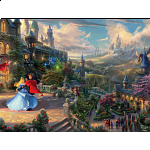 Thomas Kinkade: Disney - Sleeping Beauty Enchanting