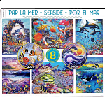 8 in 1 Puzzle Set - Seaside