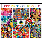 8 in 1 Puzzle Set - Colors