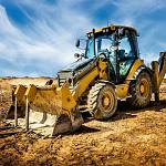 Digger At Work! - 3 x 49 piece puzzles