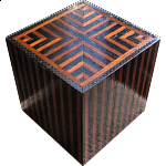 Silver City Luxe Kit - Wooden DIY Puzzle Box (Black/Brown)
