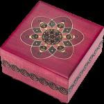 Fuchsia Kaleidoscope Puzzle Box
