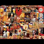 Vintage Beer Collage