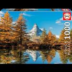 Matterhorn Mountain in Autumn