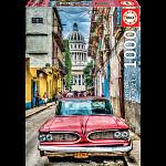 Vintage Car in Old Havana