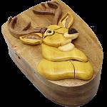 Deer Head - 3D Puzzle Box