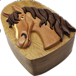Horse Head - 3D Puzzle Box