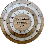 Word Wheel Scramble 74A