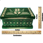 Romanian Puzzle Box - Extra Large Green