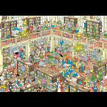 Jan van Haasteren Comic Puzzle - The Library