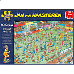 Jan van Haasteren Comic Puzzle - WC Women's Soccer