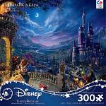 Thomas Kinkade: Disney - Beauty & The Beast Dancing- Large Piece
