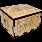 Hurricane Puzzle Box - City Circuit Board