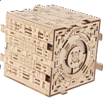 Scriptum Cube - Wooden DIY Puzzle Box Kit