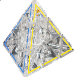 Crystal Pyraminx 50th Anniversary Limited Edition