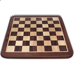 16 Inch Rosewood Chess Board - Minor Imperfections