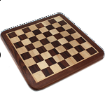 10 Inch Rosewood Chess Board - Minor Imperfections