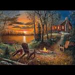 Fireside - Large Piece