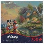 Thomas Kinkade: Disney - Mickey and Minnie: Sweetheart Cove