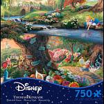Thomas Kinkade: Disney - Alice in Wonderland