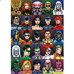 DC Comics Faces