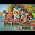 Fishing On The Dock
