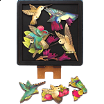 Hummingbirds - Wooden Packing Puzzle