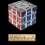 Latch Cube - Metallized Silver Body