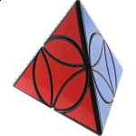 Disc Pyraminx - Black Body