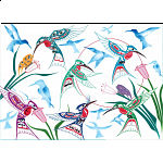 Garden of Hummingbirds