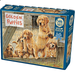 Golden Puppies : Large Pieces
