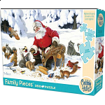 Santa Claus And Friends - Family Pieces Puzzle