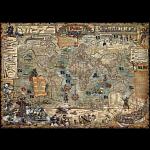 Map Art: Pirate World