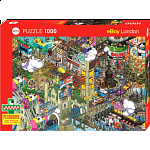 Pixorama eBoy: London Quest - Seek-and-Find Puzzle