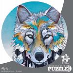 Alpha - Large Piece Round Shaped