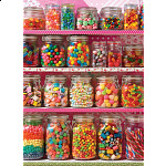 Candy Shelf - 500 Large Pieces