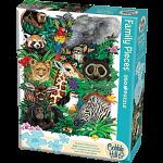 Safari Babies - Family Pieces Puzzle