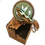 Gearly: 3D Gear Labyrinth Puzzle