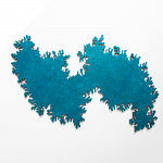 Infinity Wooden Jigsaw Puzzle - Turquoise